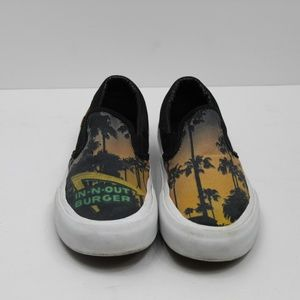 In-N-Out Burger Canvas Slip On Sneakers Size 5